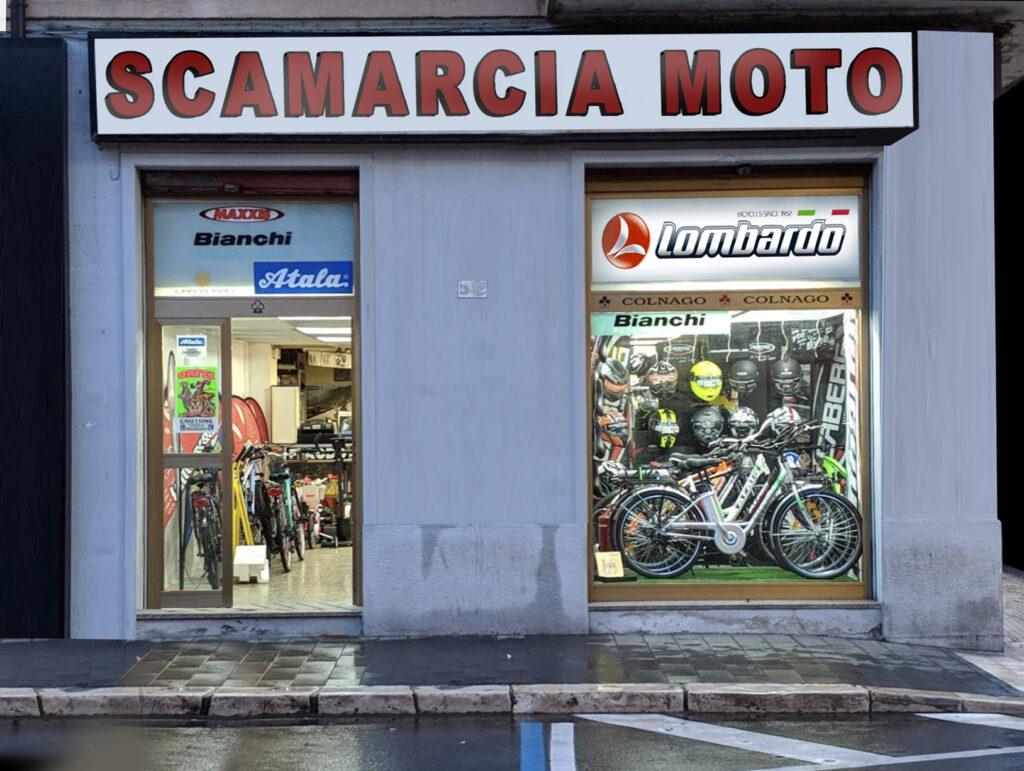 Fronte Scamarcia moto