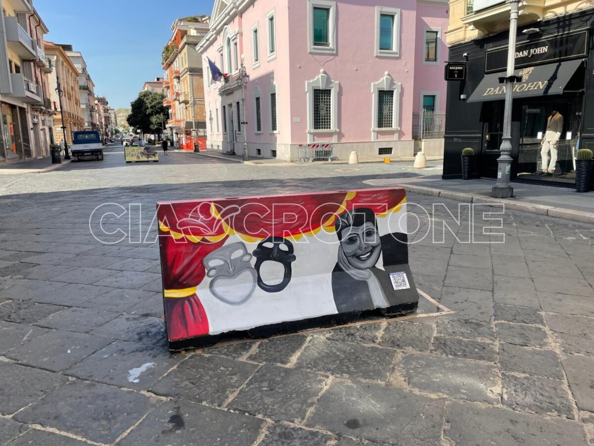 Street Art su Corso Vittorio Veneto
